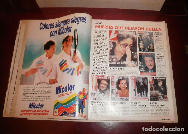 Coleccionismo de Revistas: Revista del corazón. Lecturas 2000 (1990, 03/08/90), Marta Chávarri en Ibiza, con suplemento - Foto 3 - 87188516