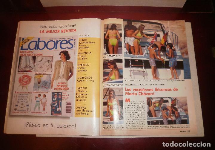 Coleccionismo de Revistas: Revista del corazón. Lecturas 2000 (1990, 03/08/90), Marta Chávarri en Ibiza, con suplemento - Foto 4 - 87188516