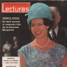 Collectionnisme de Magazines: REVISTA LECTURAS Nº 608 , AÑO 1963 , 34 PAG. 31X24CM - MUNDI/REVISTA-17. Lote 88412680