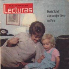 Coleccionismo de Revistas: REVISTA LECTURAS Nº 626 , AÑO 1964 , 34 PAG. , 31X24CM - MUNDI/REVISTA-18. Lote 88742228