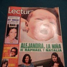 LECTURAS Nº 1169, SEP. 1974 (SERRAT-RAPHAEL-FAMILIA DOMINGUIN, MIGUEL BOSE-JAMES LAST-KARINA......)