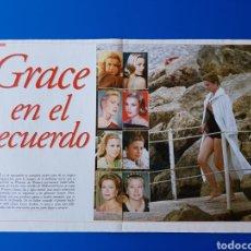 Magazine Collection - GRACE KELLY EN EL RECUERDO - RAINIERO+CAROLINA-ESTEFANIA+ALBERTO DE MONACO -RECORTE REVISTA LECTURAS - 89368224