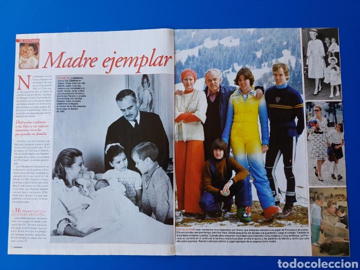 Coleccionismo de Revistas: GRACE KELLY EN EL RECUERDO - RAINIERO+CAROLINA-ESTEFANIA+ALBERTO DE MONACO -RECORTE REVISTA LECTURAS - Foto 4 - 89368224