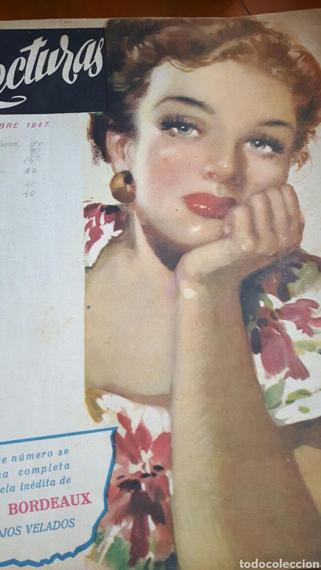 LECTURAS OCTUBRE 1947 (Coleccionismo - Revistas y Periódicos Modernos (a partir de 1.940) - Revista Lecturas)