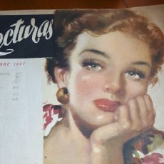 Coleccionismo de Revistas: LECTURAS OCTUBRE 1947. Lote 89430271