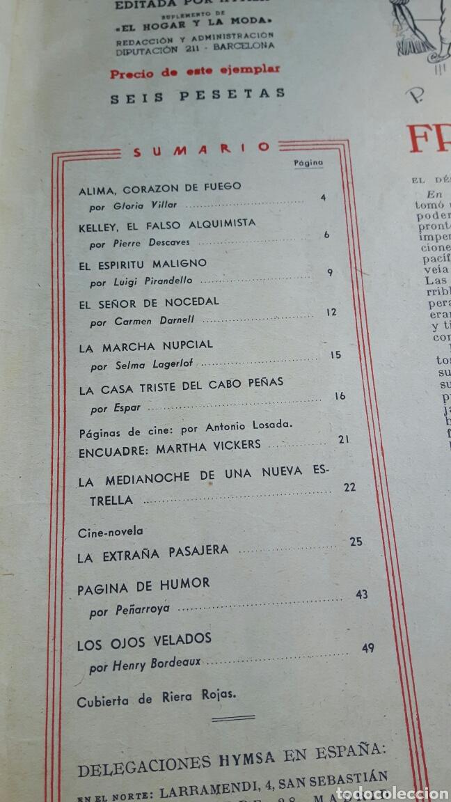 Coleccionismo de Revistas: Lecturas octubre 1947 - Foto 3 - 89430271