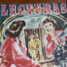 Coleccionismo de Revistas: LECTURAS REVISTA 1950. Lote 89430575