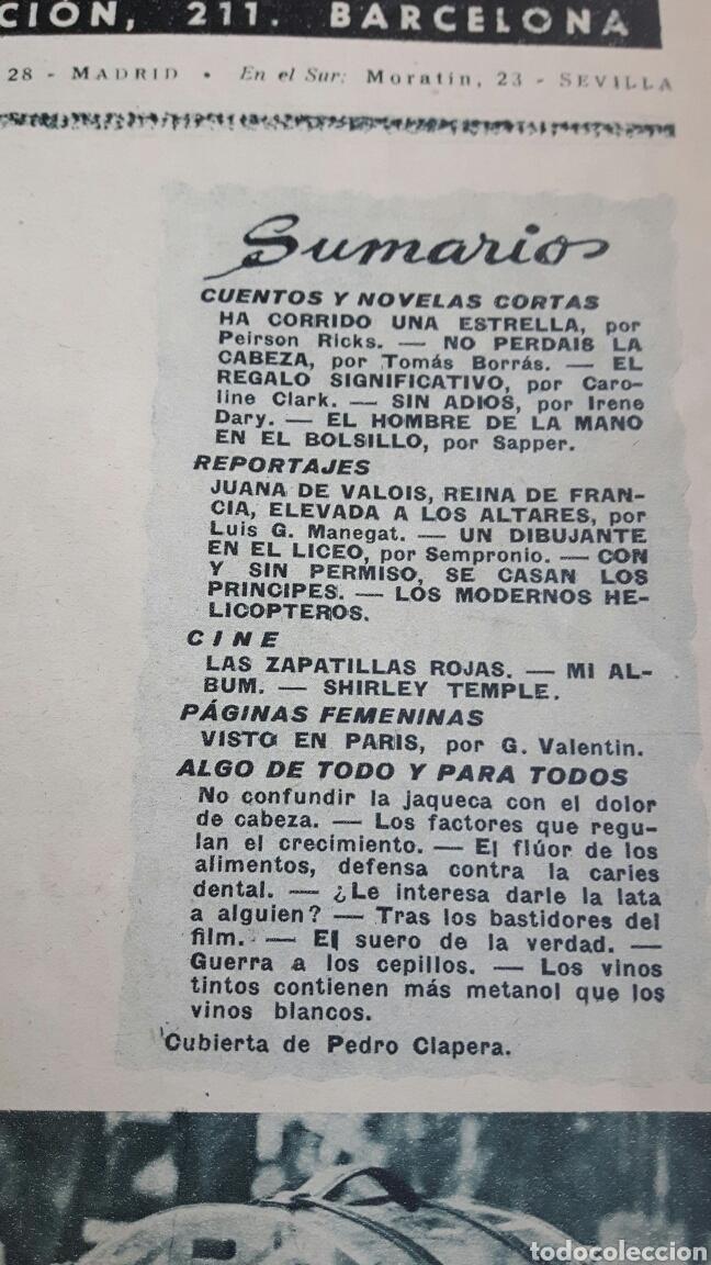 Coleccionismo de Revistas: Lecturas revista 1950 - Foto 2 - 89430575