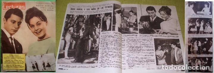 REVISTA LECTURAS 1963 ROCÍO DÚRCAL MARISOL (Coleccionismo - Revistas y Periódicos Modernos (a partir de 1.940) - Revista Lecturas)