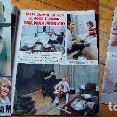 Coleccionismo de Revistas: LECTURAS 1972 ROCÍO DÚRCAL SARA MONTIEL TONY ISBERT. Lote 90626955
