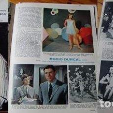 Coleccionismo de Revistas: REVISTA LECTURAS RAPHAEL ROCÍO DÚRCAL 1967. Lote 90627395
