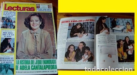 LECTURAS ROCÍO DÚRCAL 1979 (Coleccionismo - Revistas y Periódicos Modernos (a partir de 1.940) - Revista Lecturas)