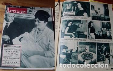 REVISTA LECTURAS 1963 ROCÍO DÚRCAL (Coleccionismo - Revistas y Periódicos Modernos (a partir de 1.940) - Revista Lecturas)