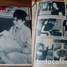 Coleccionismo de Revistas: REVISTA LECTURAS 1963 ROCÍO DÚRCAL. Lote 90627690
