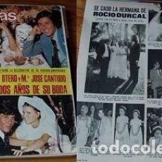 Coleccionismo de Revistas: REVISTA LECTURAS 1975 ROCÍO DÚRCAL. Lote 90627990