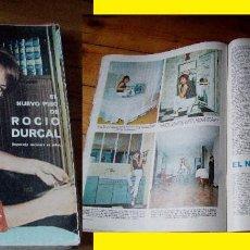 Coleccionismo de Revistas: REVISTA LECTURAS 1965 ROCÍO DÚRCAL. Lote 90628530