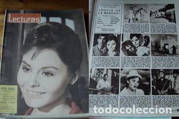 REVISTA LECTURAS 1963 ROCÍO DURCAL (Coleccionismo - Revistas y Periódicos Modernos (a partir de 1.940) - Revista Lecturas)