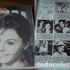 Coleccionismo de Revistas: REVISTA LECTURAS 1963 ROCÍO DURCAL. Lote 90628740