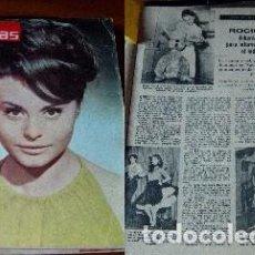 Coleccionismo de Revistas: REVISTA LECTURAS 1963 ROCÍO DÚRCAL. Lote 90628855