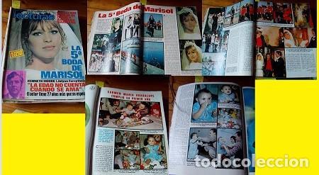 REVISTA LECTURAS 1971 ROCÍO DÚRCAL MARISOL (Coleccionismo - Revistas y Periódicos Modernos (a partir de 1.940) - Revista Lecturas)
