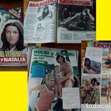 Coleccionismo de Revistas: REVISTA LECTURAS 1972 RAPHAEL ROCÍO DÚRCAL MARISOL. Lote 90632510