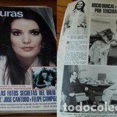 Coleccionismo de Revistas: REVISTA LECTURAS 1979 ROCÍO DÚRCAL. Lote 90632635