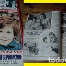 Coleccionismo de Revistas: REVISTA LECTURAS 1974 ROCÍO DÚRCAL. Lote 90720250