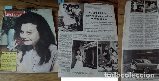 REVISTA LECTURAS 1962 ROCÍO DÚRCAL (Coleccionismo - Revistas y Periódicos Modernos (a partir de 1.940) - Revista Lecturas)
