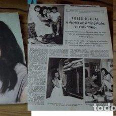 Coleccionismo de Revistas: REVISTA LECTURAS 1962 ROCÍO DÚRCAL. Lote 90720425