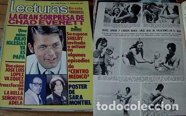 REVISTA LECTURAS 1971 ROCÍO DÚRCAL (Coleccionismo - Revistas y Periódicos Modernos (a partir de 1.940) - Revista Lecturas)