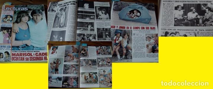 REVISTA LECTURAS 1976 ROCÍO DÚRCAL MARISOL (Coleccionismo - Revistas y Periódicos Modernos (a partir de 1.940) - Revista Lecturas)