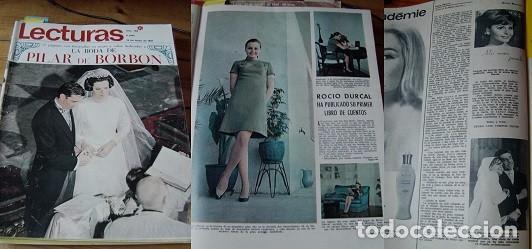 REVISTA LECTURAS 1967 ROCÍO DÚRCAL (Coleccionismo - Revistas y Periódicos Modernos (a partir de 1.940) - Revista Lecturas)