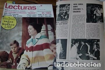 REVISTA LECTURAS 1969 ROCÍO DÚRCAL (Coleccionismo - Revistas y Periódicos Modernos (a partir de 1.940) - Revista Lecturas)