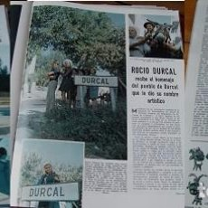 Coleccionismo de Revistas: REVISTA LECTURAS 1968 ROCÍO DÚRCAL. Lote 90722470