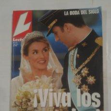 Collezionismo di Riviste: REVISTA LECTURAS Nº 2723. 4 DE JUNIO DE 2004. ¡VIVA LOS NOVIOS! LA BODA DEL SIGLO. BODA REAL. TDKR37. Lote 90729960