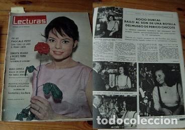 REVISTA LECTURAS 1963 ROCÍO DÚRCAL JOSELITO (Coleccionismo - Revistas y Periódicos Modernos (a partir de 1.940) - Revista Lecturas)