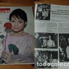 Coleccionismo de Revistas: REVISTA LECTURAS 1963 ROCÍO DÚRCAL JOSELITO. Lote 90940775