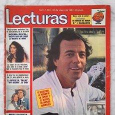 Coleccionismo de Revistas: LECTURAS - 1982 - JULIO IGLESIAS, DALLAS, VERANO AZUL, CAMILO SESTO, Mª JIMÉNEZ, NARANJITO. Lote 91348945