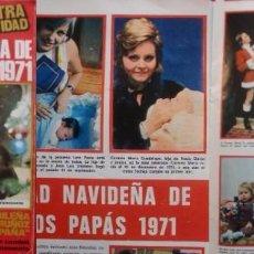 Coleccionismo de Revistas: REVISTA LECTURAS 1971 ROCÍO DÚRCAL LAURA VALENZUELA. Lote 94380854