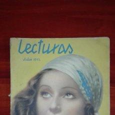 Coleccionismo de Revistas: REVISTA LECTURAS JULIO 1932. Lote 94682127