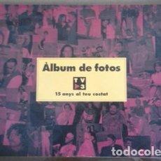 Coleccionismo de Revistas: ALBUM DE FOTOS - TV3 TELEVISIO DE CATALUNYA -15 ANYS AL TEU COSTAT - 1998 - 12 PAGS. - 29,5 X 21 CM. Lote 95625595