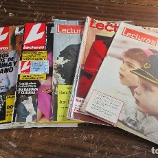 Coleccionismo de Revistas: LOTE DE 6 REVISTAS LECTURAS. Lote 96075923