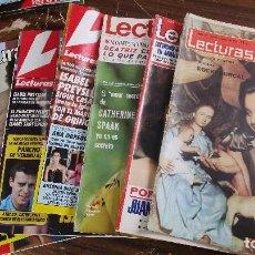 Coleccionismo de Revistas: LOTE DE 6 REVISTAS LECTURAS. Lote 96154887