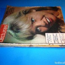 Coleccionismo de Revistas: LOTE 7 REVISTAS LECTURAS (VER LISTA Y FOTOS DE CADA PORTADA). Lote 96687823