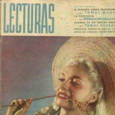 Coleccionismo de Revistas: LECTURAS Nº 261 JULIO 1946. Lote 97656395