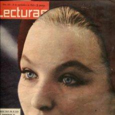 Coleccionismo de Revistas: LECTURAS Nº 544 SEPTIEMBRE 1962. Lote 97656431