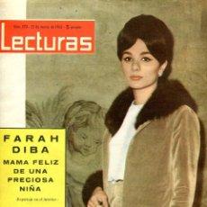 Coleccionismo de Revistas: LECTURAS Nº 570 22 DE MARZO DE 1963. Lote 97675315