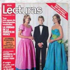 Coleccionismo de Revistas: REVISTA LECTURAS - Nº 1640 - 1983 - FLAMINGO ROAD, VALERIE LANDSBURG, LEE CURRERI, ISABEL PANTOJA. Lote 98198239