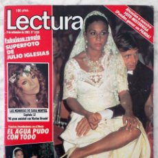 Coleccionismo de Revistas: REVISTA LECTURAS - Nº 1638 - 1983 - LOLITA, FAMA, RICHARD HATCH, SARA MONTIEL, JULIO IGLESIAS. Lote 98199195