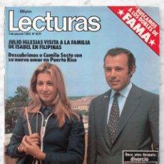 Coleccionismo de Revistas: REVISTA LECTURAS - Nº 1624 - 1983 - LA BOTILDE, ISABEL PANTOJA Y PAQUIRRI, MIGUEL BOSÉ, CAMILO SESTO. Lote 98374163
